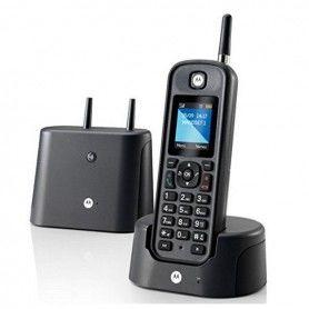 Teléfono Inalámbrico Motorola O201 Negro