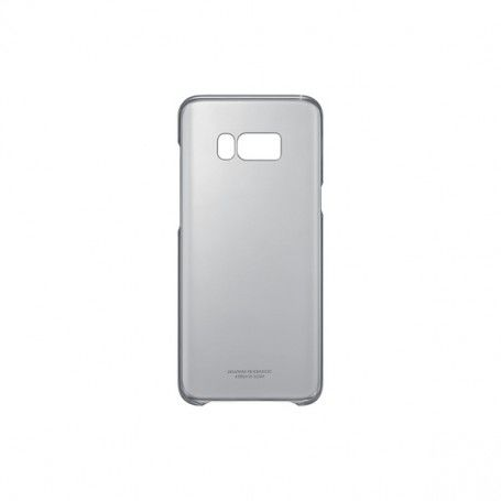Mobile Phone Case Samsung 222143 Samsung S8+ Clear Cover Black