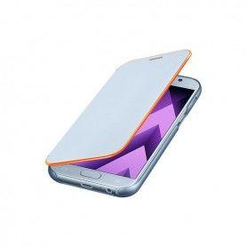 Étui pour téléphone portable Samsung EF-FA520PLEGWW Samsung A5 2017 Neon Flip Cover Bleu