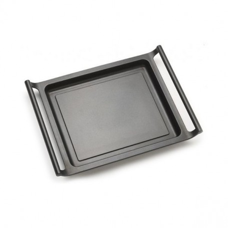 Palcha à Griller Lisse BRA A271535 35 cm Noir