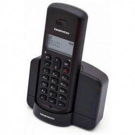 Wireless Phone Daewoo DTD-1350 DECT DUO Black