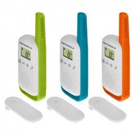 Walkie-Talkie Motorola T42 Multicolor (3 pcs)