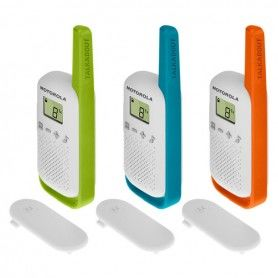 Walkie-Talkie Motorola T42 Multicolour (3 pcs)