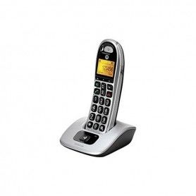 Wireless Phone Motorola CD301 DECT Silver