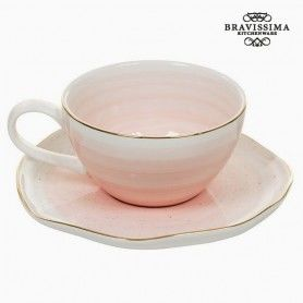 Taza con Plato 250 ml - Colección Queen Kitchen