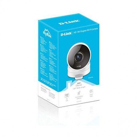 Videocámara de Vigilancia D-Link DCS-8100LH 720 px 180º WIFI