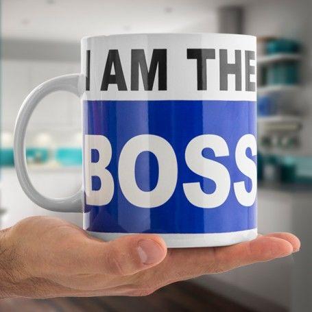 I am the Boss XL Mug