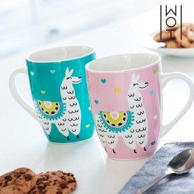 Wagon Trend Llama Mug