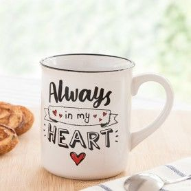 Taza Always In My Heart (300 ml)