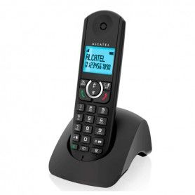 Wireless Phone Alcatel F380S Duo DECT Black