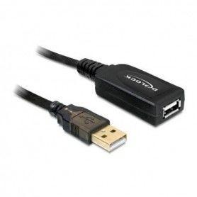 Cable Alargador DELOCK 82689 USB 2.0 15 m
