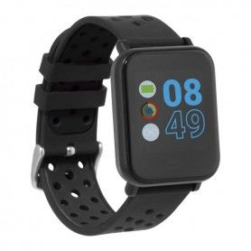 "Montre intelligente Cube HR2 1,3"" TFT Bluetooth Noir"