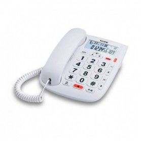 Landline for the Elderly Alcatel T MAX 20 White