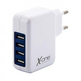 Cargador de Pared Ref. 138468 4 x USB-A Blanco