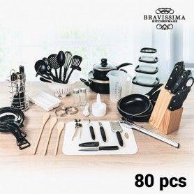 Kit de Cuisine Bravisima Kitchen (80 pièces)