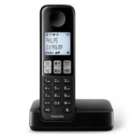 Wireless Phone Philips DECT Black
