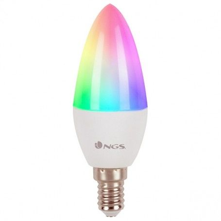 Bombilla Inteligente NGS Gleam514C RGB LED E14 5W