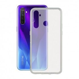 Mobile Phone Case with TPU Edge Realme 5 Pro Contact Flex Transparent
