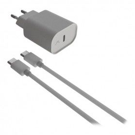 Wall Charger + USB C Micro Cable 5V-15V