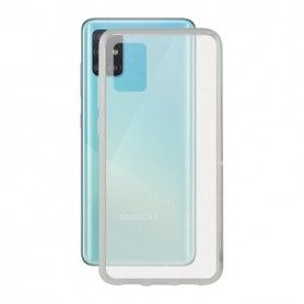 Mobile Phone Case with TPU Edge Samsung Galaxy A51 Flex Transparent