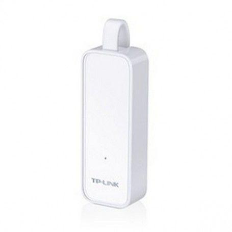 Network Adaptor TP-Link UE300 LAN 10/100/1000 White