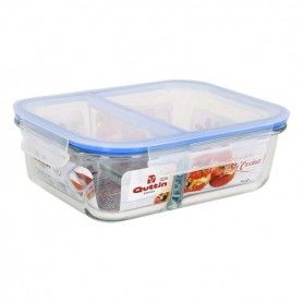 Lunch box Quttin Glass Compartments (1400 Cc)