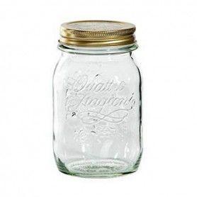 Glass Jar Bormioli Quattro Stag Crystal