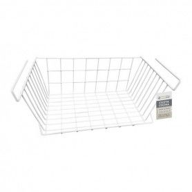Basket for Kitchen Shelf Confortime White