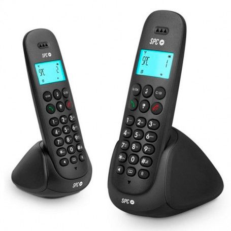 Wireless Phone DUO Telecom 7312N DECT Black