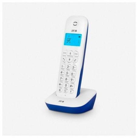 Téléphone Sans Fil SPC Air 7300A DECT Blanc Bleu
