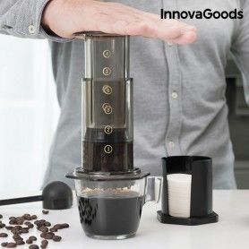 InnovaGoods Hand Press Cafetiere