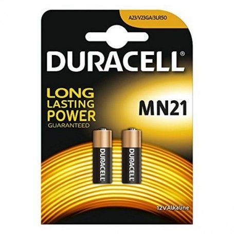Alkaline Batteries DURACELL Security DRB212 MN21 12V 1.5W (2 pcs)