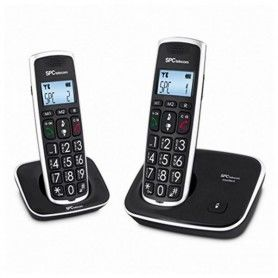 Wireless Phone SPC 7609N (2 pcs) Black
