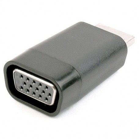 Adaptador HDMI a VGA GEMBIRD A-HDMI-VGA-001 1080 px 60 Hz Negro
