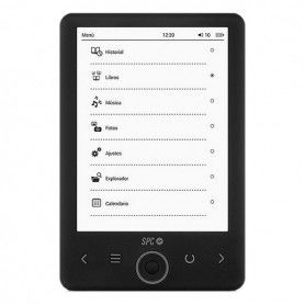 """eBook SPC 5610N 6"""" 4 GB SD Negro"""