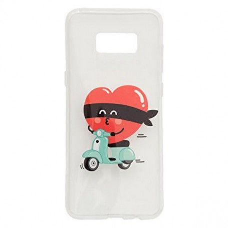 Mobile cover Samsung S8+ Mr. Wonderful MRCAR100 Vespa
