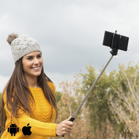 Selfie Stick with Cable