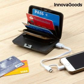 Tarjetero de Seguridad y Power Bank InnovaGoods