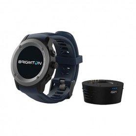 "Smartwatch BRIGMTON BWATCH-100GPS-A 1,3"" LCD Bluetooth Blue"