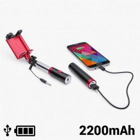 Palo Selfie con Power Bank 2200 mAh 145200