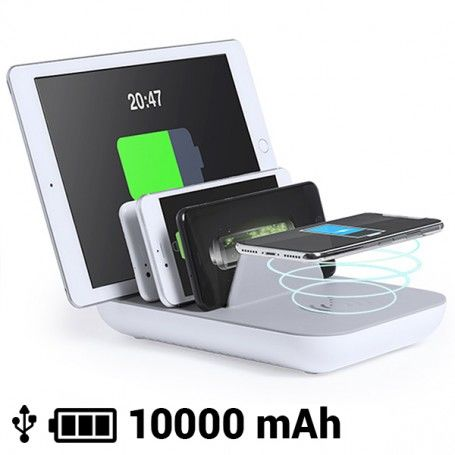 Wireless Charger for 5 Devices 10000 mA 145768