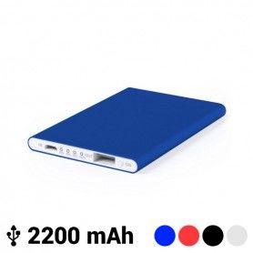 Power Bank Extraplano con Micro USB 2200 mAh LED 145538