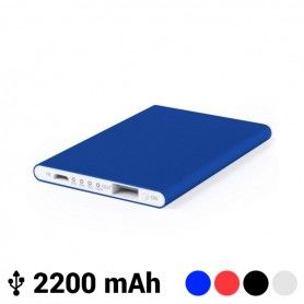 Ultra-slim Power Bank with Micro USB 2200 mAh LED 145538
