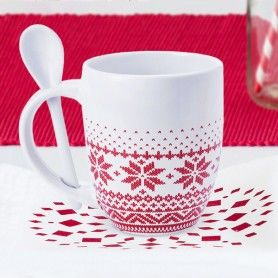 Mug with Small Spoon (370 ml) 145193