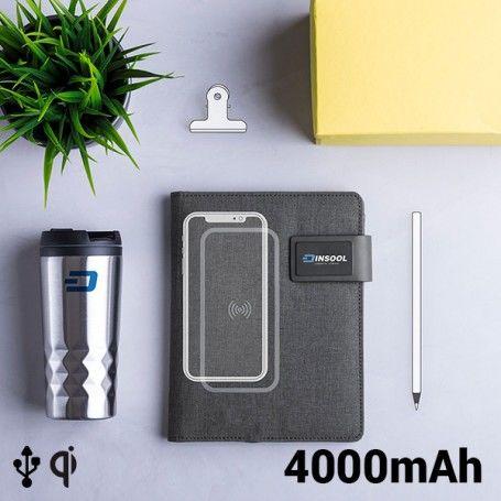 Cahier de Notes avec Power Bank 4000 mAh 16 GB (20 feuilles) 146025