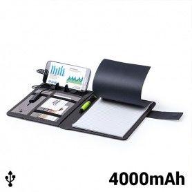 Cuaderno de Notas con Power Bank 4000 mAh (20 hojas) 146023