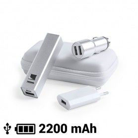 Set of Chargers (3 pcs) 2200 mAh 145967