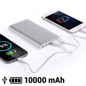 Power Bank 10000 mAh Micro USB Lightning USB Type-C 145537
