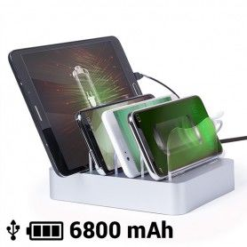 USB Charger for Four Mobile Devices 6800 mAh 145769