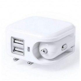 Chargeur USB Mural et pour Voiture 2100 mAh 145578
